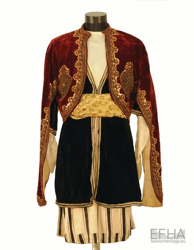 "Costume of Georgian Mamluk from the movie ""Mamluk"" (An Arabic designation for slaves)."