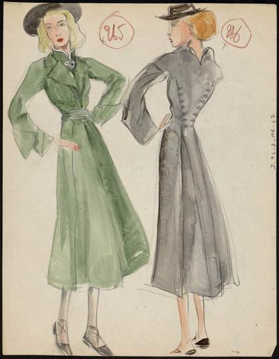Modèles de manteaux