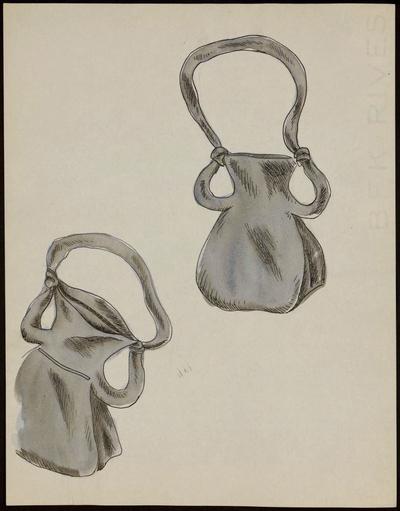 Modèle de sac à main