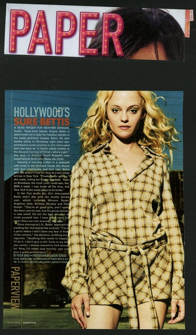 Archivio Missoni - Actress Heather Graham in wool Shirt by Missoni