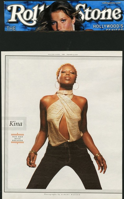 Archivio Missoni - Singer Kina in a cotton Top by Missoni