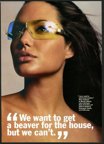 Archivio Missoni - Angelina Jolie wears Sunglass by Missoni
