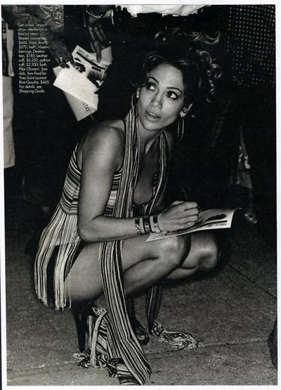 Archivio Missoni - Jennifer Lopez dressed in Missoni