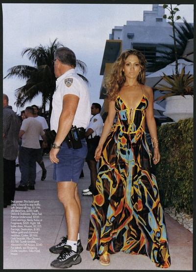Archivio Missoni - Jennifer Lopez dressed in Missoni