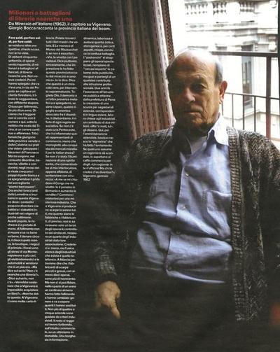 Archivio Missoni - Italian Editor Giorgio Bocca in multicolor Cardigan by Missoni