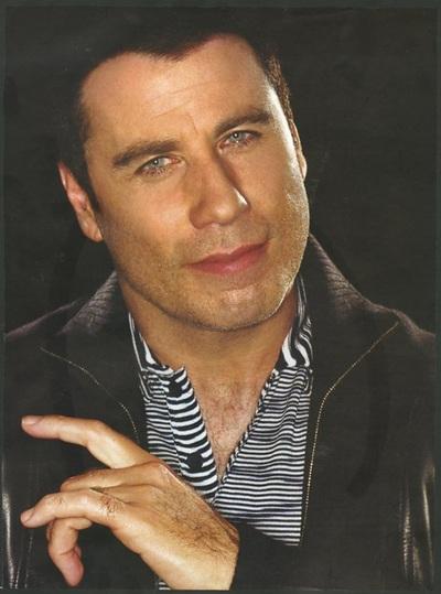 Archivio Missoni - John Travolta wears a stripped Shirt by Missoni