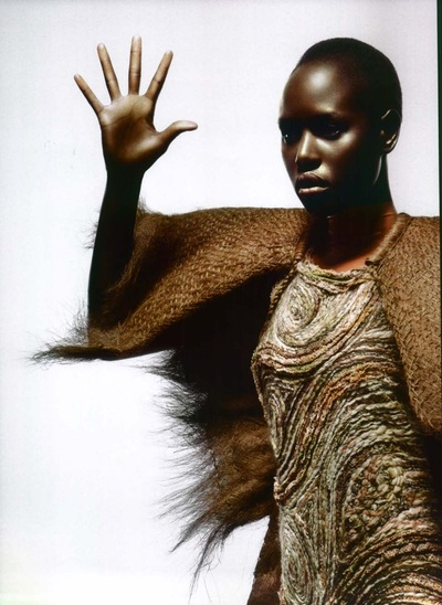 Archivio Missoni - Editorial page from Numero, China