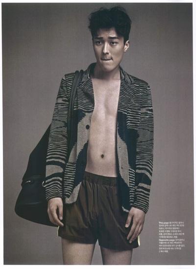 Archivio Missoni - Editorial page from Arena Homme Plus, Corea