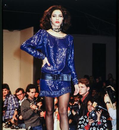 Fashion show Yves Saint Laurent