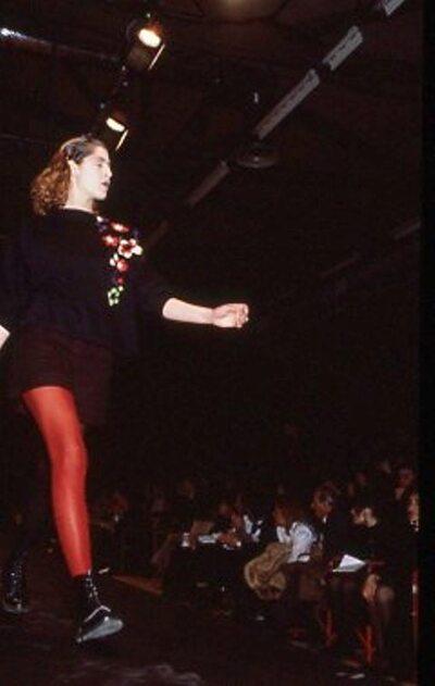 Pitti Trend 7, 1988 - Immagine sfilata