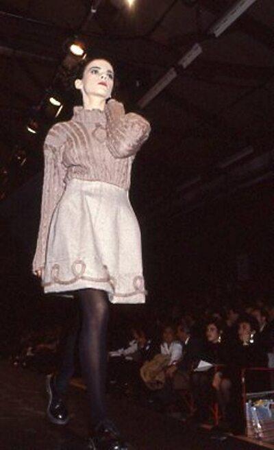 Pitti Trend 7, 1988 - Polimoda Firenze