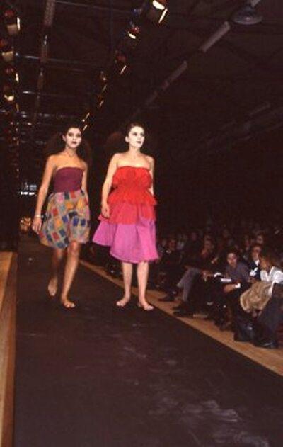 Pitti Trend 7, 1988 - Abe Kensho Tokyo
