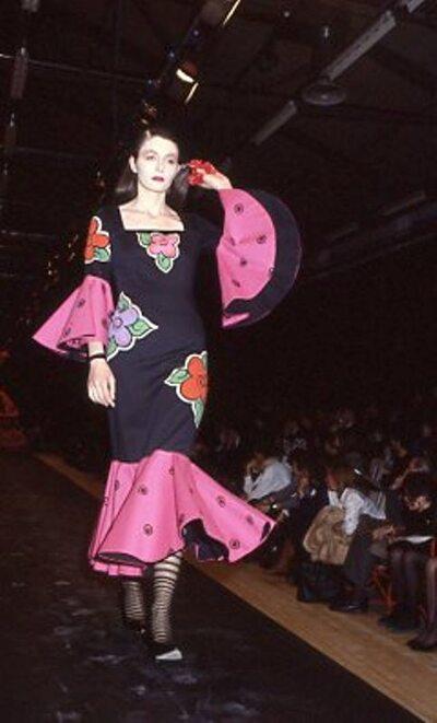 Pitti Trend 7, 1988 - St. Martin's School of Arts Londra