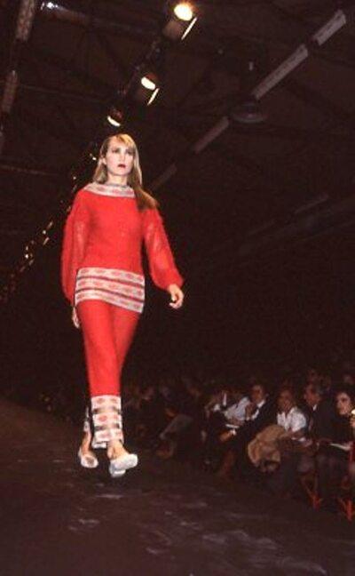 Pitti Trend 7, 1988 - Fashion Institute of Technology New Delhi