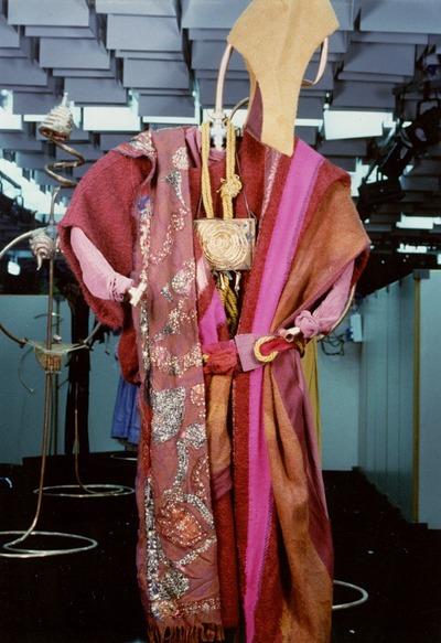 Pitti Trend 8, 1988 - Tibet. Giulia Mafai