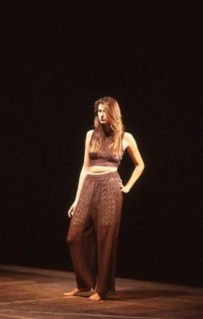 Pitti Trend 8, 1988 - Carmelita Ribba