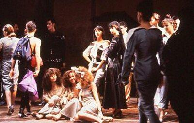 Pitti Trend 8, 1988 - Immagine sfilata