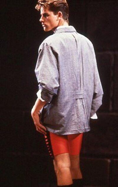 Pitti Trend 8, 1988 - Luca Faccenda