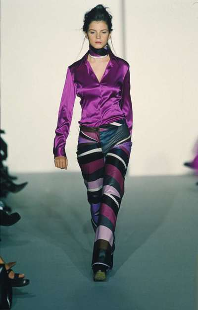 Camicia e pantalone stampato