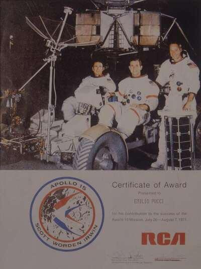 Logo della missione Apollo XV