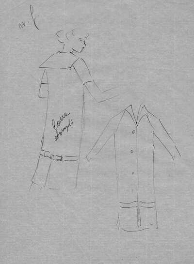 Schizzo abito