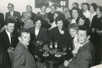 Group at a social gathering