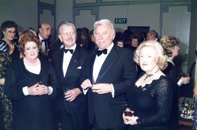 Gordon Lambert and Joe Lynch at the Jacob's Awards