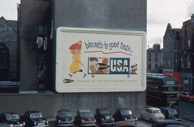 Jacob's USA Assorted Biscuits outdoor advertisement
