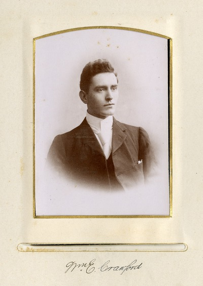Portrait photograph of [Nm] E. Crawford