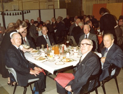 Group attending the Jacob's pensioners' party