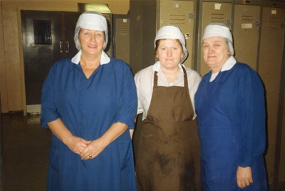 Factory workers at the Tallaght plant
