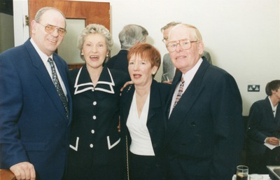 Una McCluskey and Margaret Beyen at the Irish Biscuits Service Awards