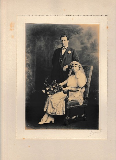 Mortimer and Jo O'Connell Wedding Portrait