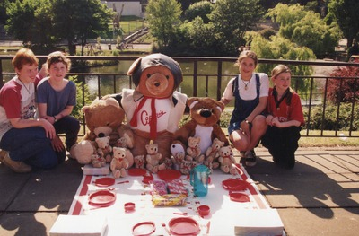 Children attending the Jacob's Mikado Teddy Bears' Picnic