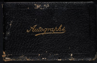 Autograph book Mortimer O'Connell