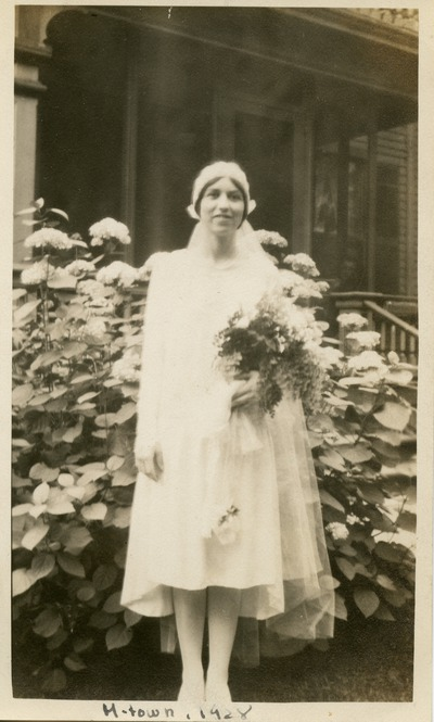 Photograph of Mary C. Bromage (1928)
