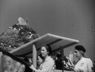 Poświęcenie kopca ku czci marszałka Piłsudskiego