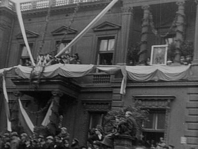 Rewia wojskowa i obchody w Warszawie w 20-lecie odzyskania niepodległości