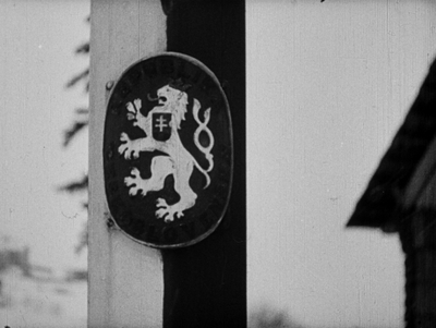 Punkt graniczny polsko-czeski Klimiec. Wizyta oddziałów węgierskich. Zajęcie przez Węgry kawałka Czech