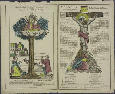 Mirakuleus beeld van O.-L.-V. te Scherpenheuvel