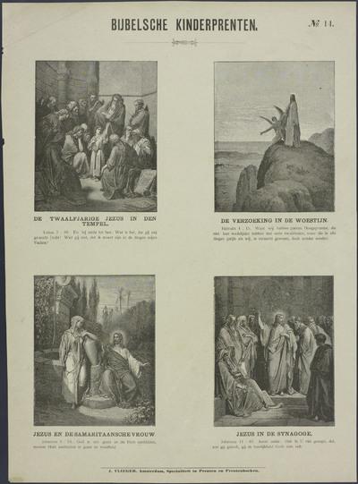 De twaalfjarige Jezus in den tempel