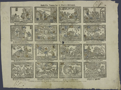 Bybelsche figuren van 't Nieuwe Testament