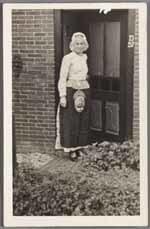 Vrouw in Westfriese dracht