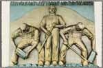 Gedenkplaat in Monument Afsluitdijk