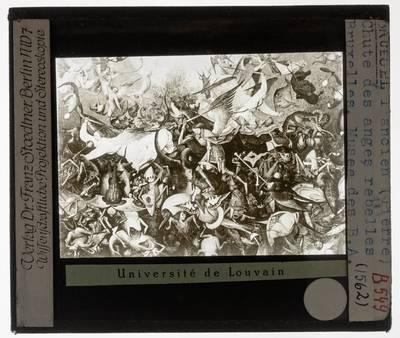 Pieter Brueghel de Oude. De val van de opstandige engelen