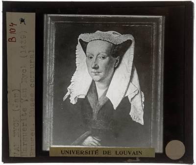 Jan van Eyck. Margareta Van Eyck
