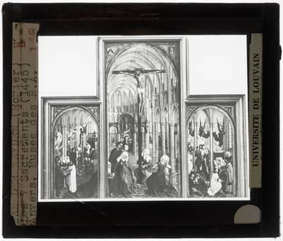 Rogier van der Weyden. Triptiek van de Zeven sacramenten