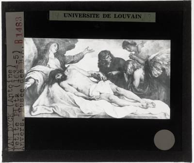 Sir Anthony van Dyck. Christus in het graf