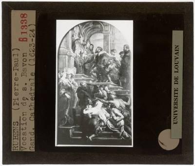Pieter Paul Rubens. De bekering van de Heilige Bavo