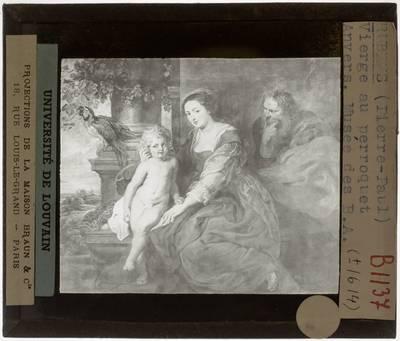 Pieter Paul Rubens. Madonna met de papegaai